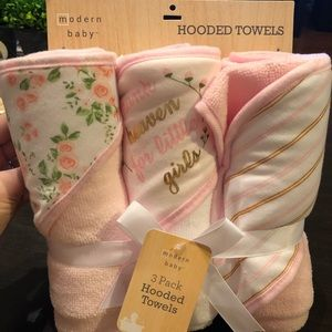 Modern Baby Hooded Towels (3pk)